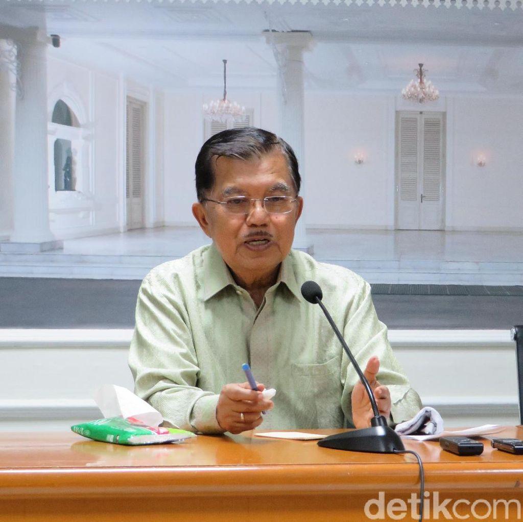 Ngabalin: JK Tak Bahas Gugatan Masa Jabatan Wapres di Istana