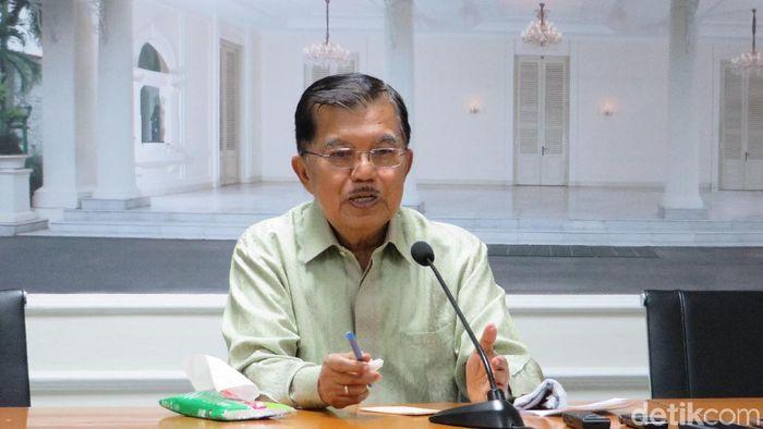 Wapres Jusuf Kalla/Foto: Noval/detikcom