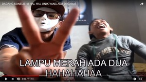 Video Kocak Youtuber Soroti Garut Punya 2 Lampu Merah