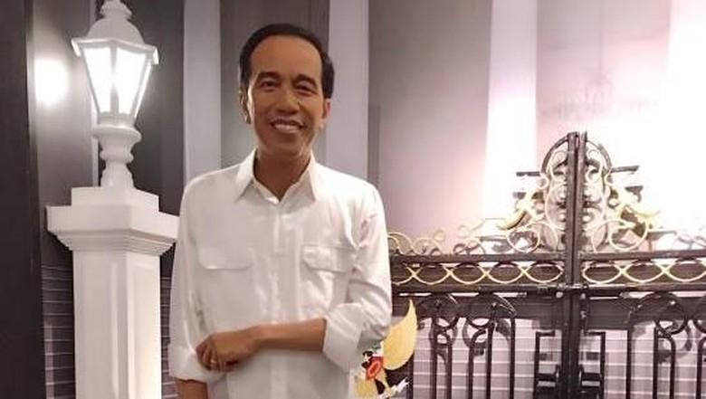 Patung lilin Jokowi (Madame Tussauds Singapore/Facebook)