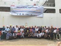 Kejar Target, 4 Kapal Gelar Internet di Indonesia Timur