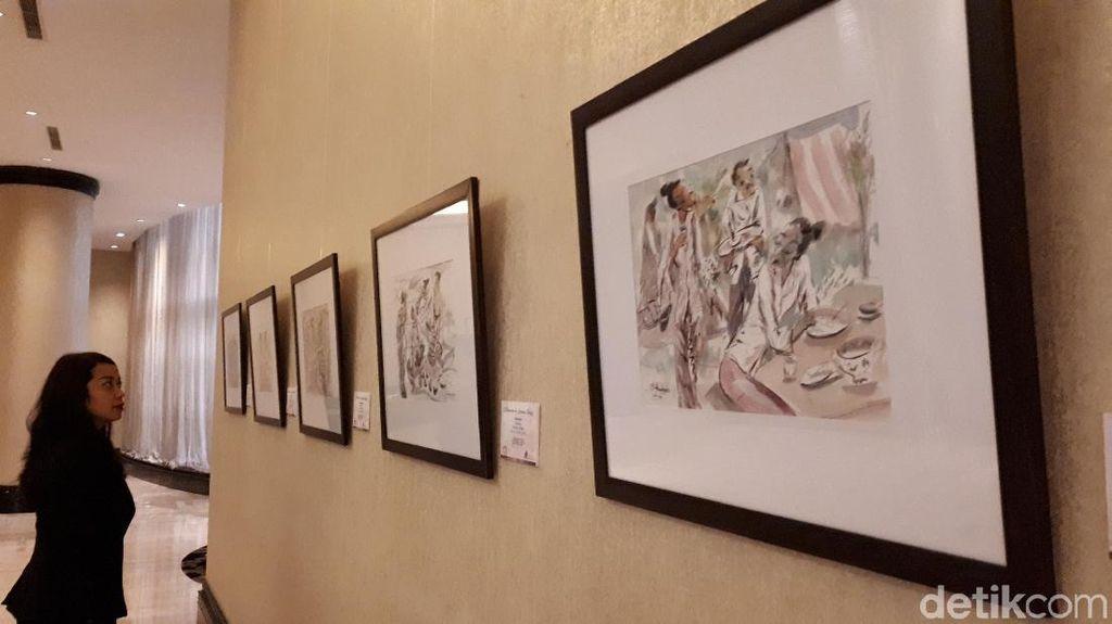 Berbagi untuk Difabel, 96 Lukisan Langka Tampil di Bandung