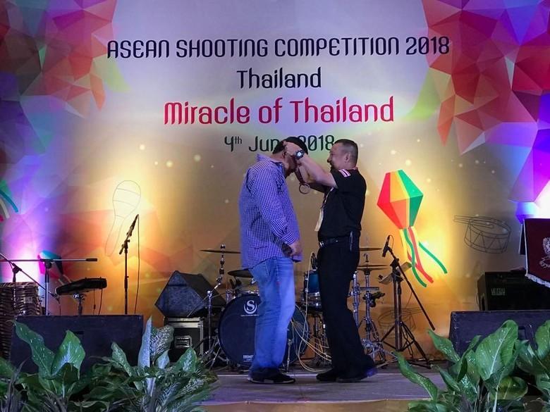 Tim Polri Sabet Juara 1 Asean Shooting Competition 2018