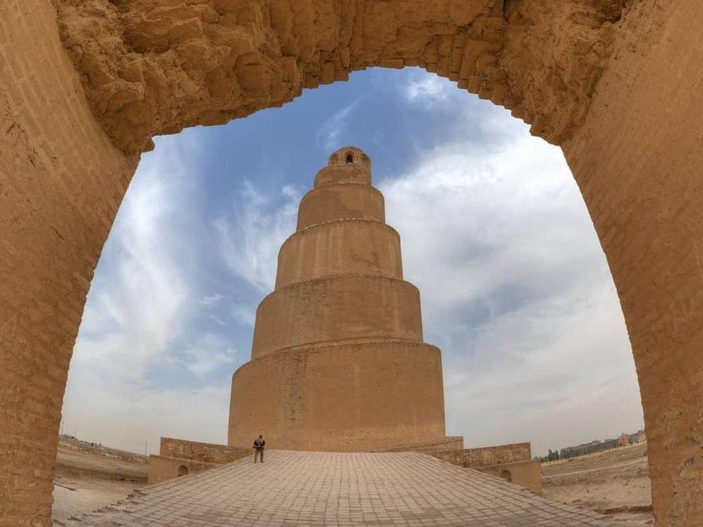 Foto: Menara Spiral Unik Masjid Agung Samarra