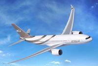 Desain ini dibuat untuk pesawat jet Airbus ACJ330neo (Airbus Corporate Jets)