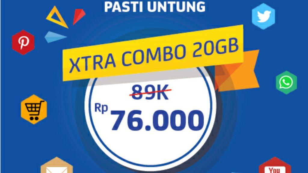 Cuma di Sini, Dapat Potongan Harga Paket Data Indosat dan XL