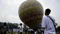 Menhub: 100 Balon Udara Diamankan Polisi Sebelum Diterbangkan
