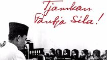 Jas Merah Pameran Arsip Bapak Bangsa Bung Karno di Surabaya