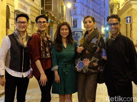 Persiapan 3 Desainer Indonesia Jelang Tampil di Batik For The World, Paris