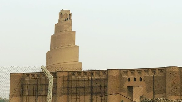 Masjid Agung Samarraa berdiri di area selaus 17 hektar. Sedangkan luas bangunannya mencapai 38 ribu meter persegi. (Instagram)