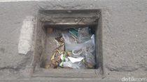 Pencurian Besi Penutup Drainase Marak di Mataram NTB