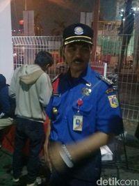 Kasi Ops Dinas Pemadam Kebakaran Jakarta Pusat Syarifudin