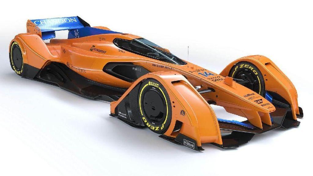 Inikah Mobil Balap F1 di Masa Depan?