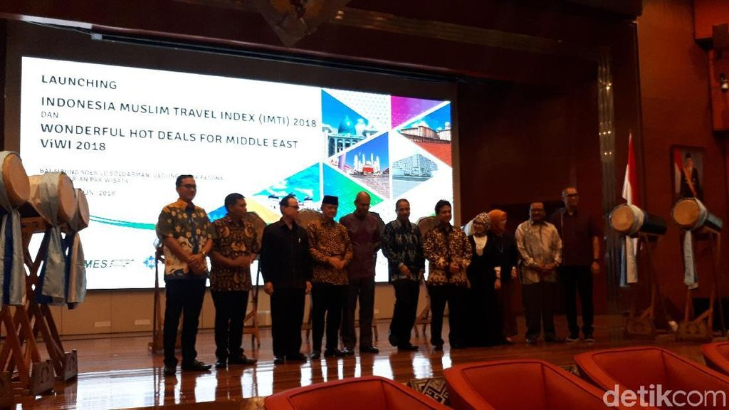 Timur Tengah Jadi Sasaran Utama Wisatawan Muslim ke Indonesia