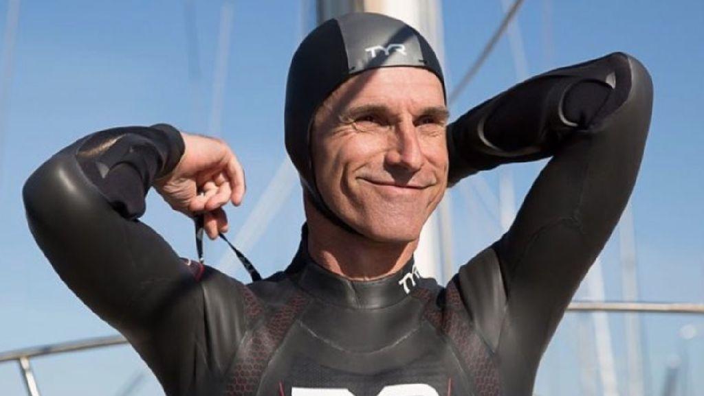 Foto: Ini Ben Lecomte, Orang Pertama yang Berenang Lintasi Pasifik