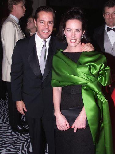 Desainer Kate Spade dan suaminya Andy Spade.