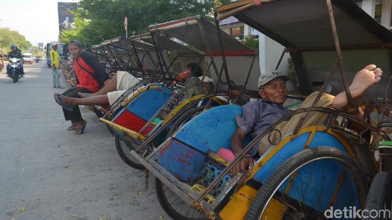 Becak Bakal Legal di Jakarta, Hanura: Pola Pikir Gubernur Mundur