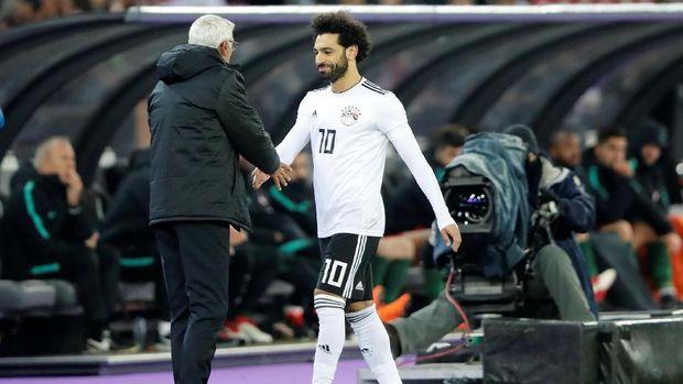 Mohamed Salah mencetak 44 gol bersama Liverpool musim lalu.