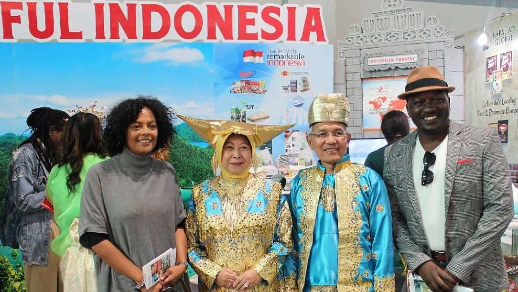 Mempromosikan Pariwisata Indonesia Sampai Afrika