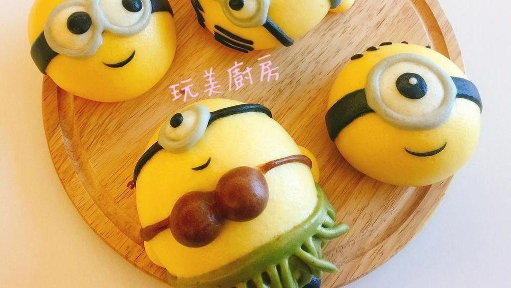 Imut Menggemaskan! 10 Bakpau SpongeBob hingga Karakter One Piece Ini
