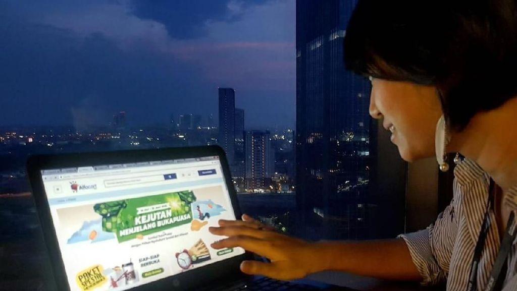Alfacart Genjot Bisnis Toko Kelontong Online