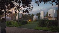 Lokasi hunian ini ada di Eindhoven, Belanda.