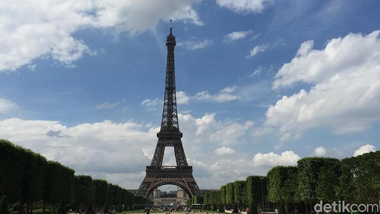 Menara Eiffel di Prancis (Daniel Ngantung/detikTravel)