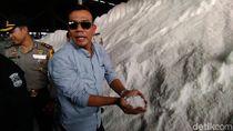 Polisi Gerebek Gudang yang Kemas Garam Industri Jadi Konsumsi