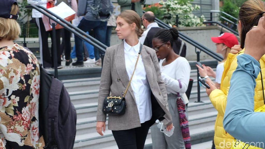 Bak Fashion Show, Penonton Tenis Tampil Modis di Roland Garros Paris