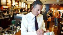 Mundur Jadi CEO Starbucks, Ini Momen Howard Schultz Saat Ngopi