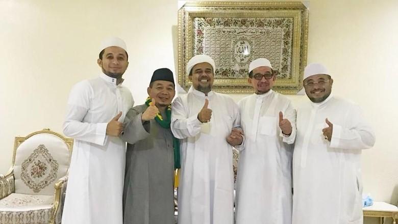 Serba-serbi Pertemuan PKS-Habib Rizieq di Mekah