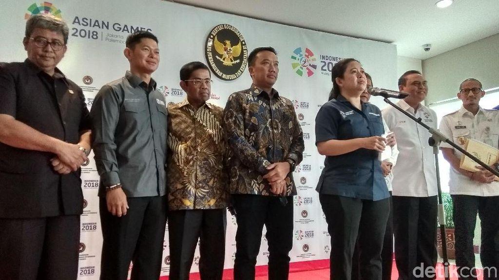 Menteri Puan Sinergikan Persiapan Asian Games dan Asian Para Games 2018
