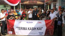 PT KAI Gelar Bazar Sembako Murah di Padalarang dan Cimahi