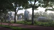 Minim Kuli Bangunan, Belanda Bikin Rumah Pakai Printer 3D