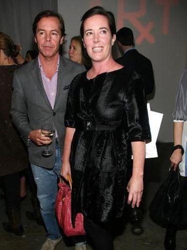 Kate Spade dan suaminya, Andy Spade.