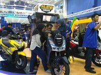 Yamaha Lexi di Jakarta Fair Kemayoran