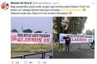 Mardani Ajak Pendukung #2019GantiPresiden Klakson Telolet Saat Mudik