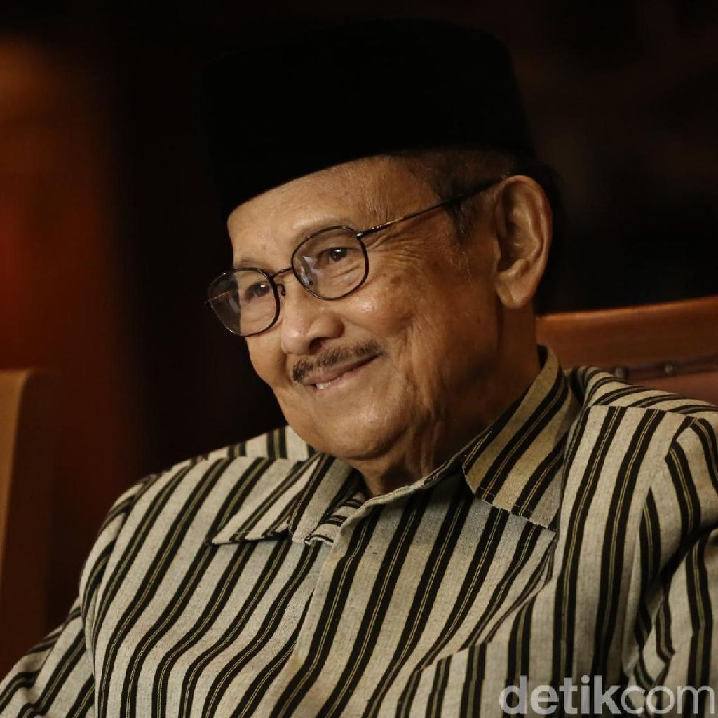 Netizen: Selamat Ulang Tahun Pak Habibie