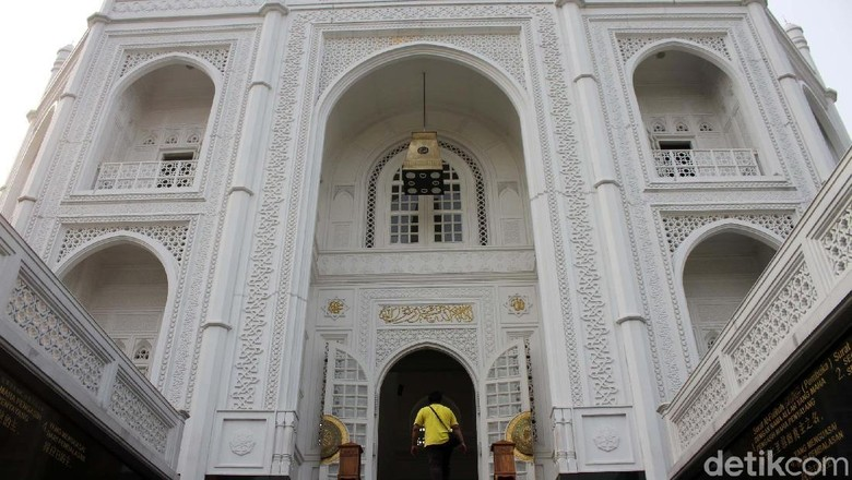 Masjid Ramlie Musofa Sunter (Rifkianto Nugroho/detikcom)