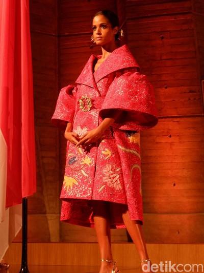 Pameran Batik for the World berlangsung pada 6-12 Juni di kantor pusat UNESCO di Paris. Foto: Daniel Ngantung/Wolipop