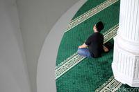 Bagian dalam Masjid (Rifkianto/detikcom))