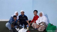 Bahagia, Narapidana Lapas Ciamis Buka Bersama dengan Keluarga