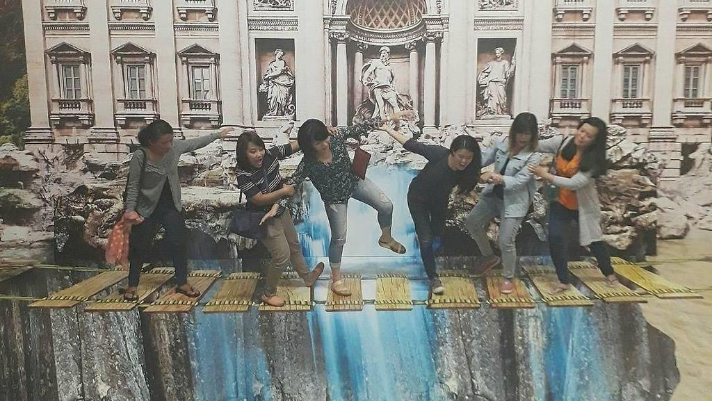 Yuk, Hunting Pose Narsis di Museum 3D Semarang