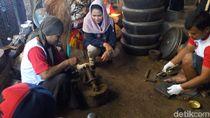 Dukung UMKM, Puti Janji Berdayakan Perajin Gamelan Ponorogo