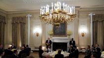 Trump Lanjutkan Tradisi Buka Puasa Bersama di Gedung Putih