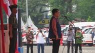JK Lepas Tim Relawan Mudik PMI: Ini Amal Ibadah
