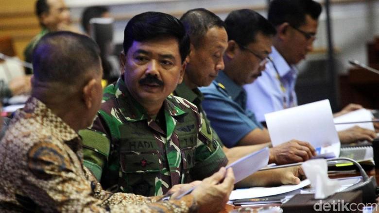 TNI Ajukan Anggaran Rp 107 T di RAPBN 2019, Termasuk untuk Antiteror