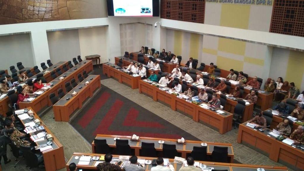 Empat Menko Paparkan Kebutuhan Anggaran 2019 di Banggar
