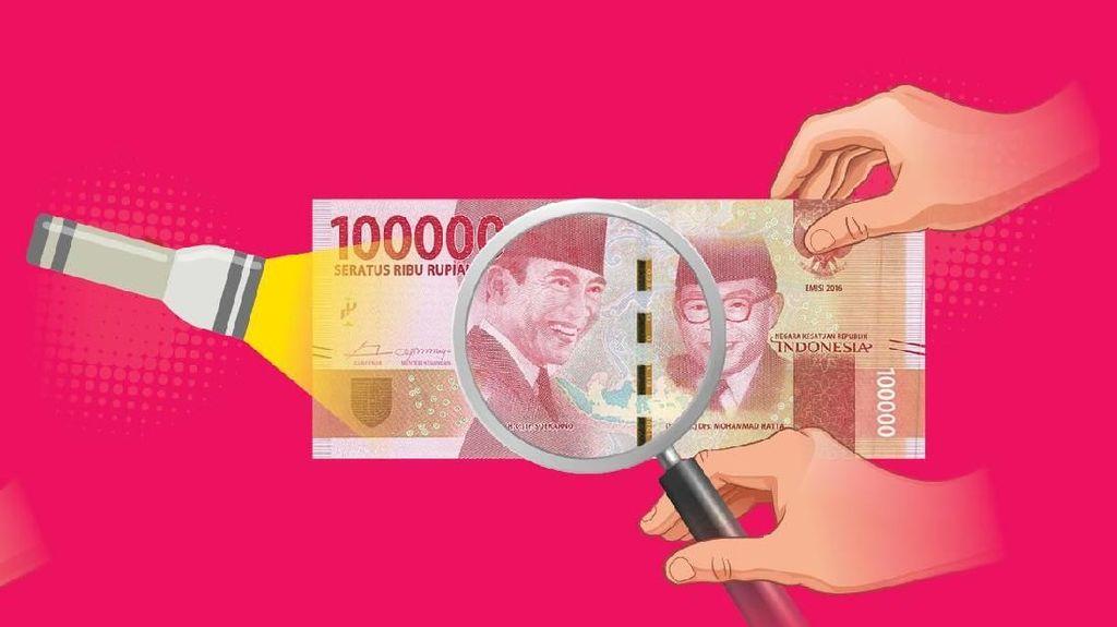 Bikin Uang Palsu, Randy Dibekuk di Riau