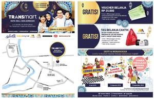 Transmart Duta Mall Banjarmasin Resmi Dibuka